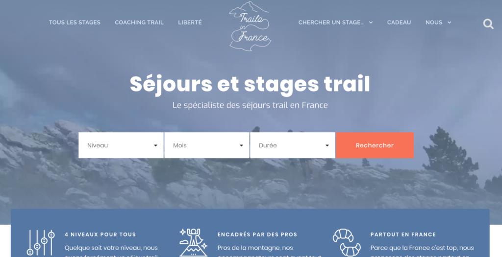 Trails in France - Séjours et stages trail