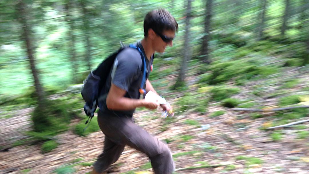 Orientation en forêt du Vercors